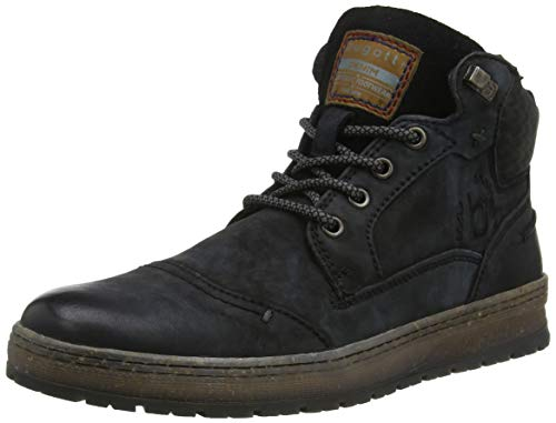 bugatti Herren 321334373000 Klassische Stiefel, Schwarz, 43 EU