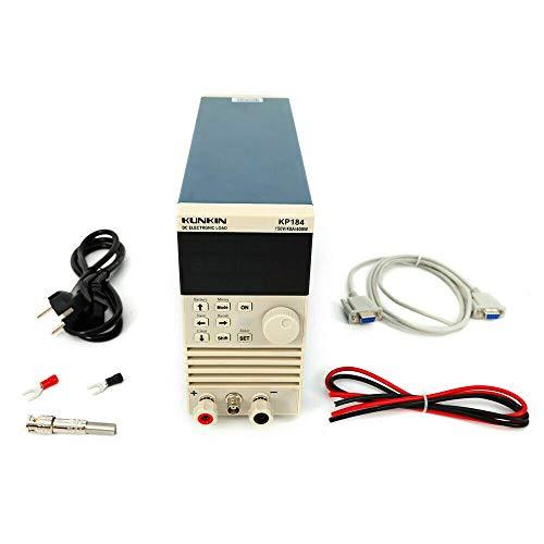 Wangkangyi KP184 DC Elektronische Last Djustable Batterie Kapazität Tester RS485/232 400W Interner Widerstand Tester (Windows7 64-bit Software Installation System)