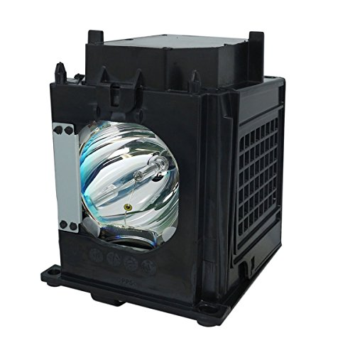 AuraBeam Economy 915P049010 for Mitsubishi WD-57732, Replacement TV Lamp with Housing / Enclosure