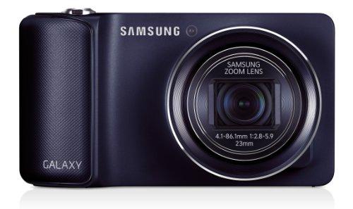Samsung Galaxy Camera Kompaktkamera (16,3 Megapixel, 21x optischer Zoom, WLAN) Schwarz