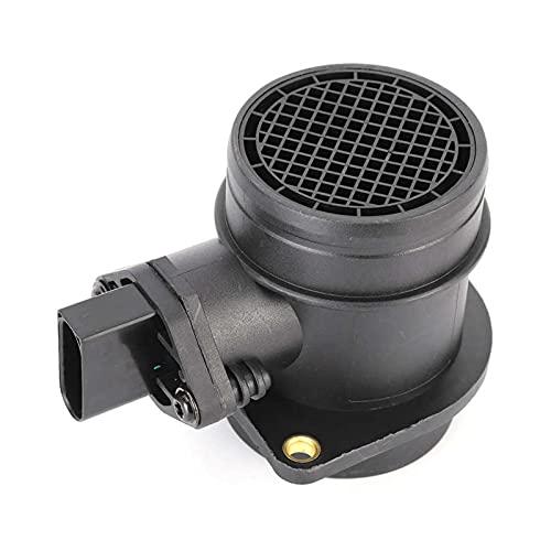 LANZI Presa d'Aria Sensore d'Aria 06A906461L Air Meter ABS ABS Sensore del misuratore di Aria di Massa 0280218063 Adatta per A4 TT 0986280217 Sensore MAF Outlet del condizionatore d'Aria