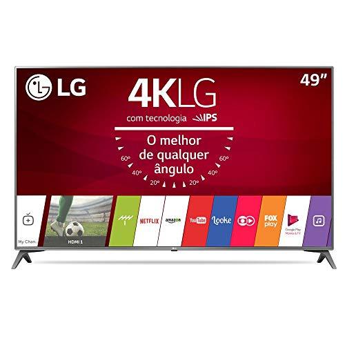 Smart TV 49', LG 49UJ6565, Cinza