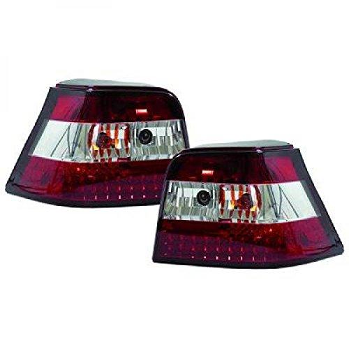 in. pro. 2213994 haute définition à LED Feux arrière, Rouge/Blanc/Transparent