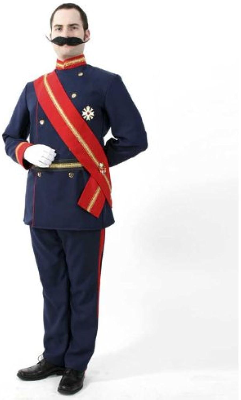 FRIES NEU Herren-Kostüm Kaiser Wilhelm, 4-TLG. Gr. L