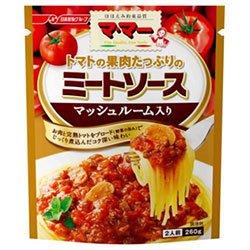 日清フーズ マ・マー トマトの果肉たっぷりのミートソース マッシュルーム入り 260g×6袋入×(2ケース)