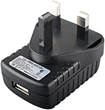 MyVolts 5V power supply adaptor compatible with Nokia 222 Dual-SIM Phone - type G (UAE/UK) plug