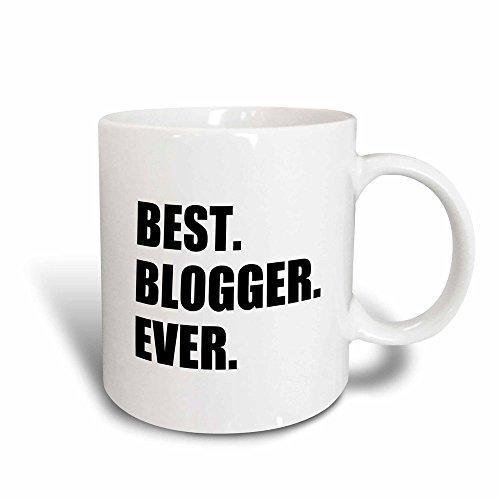 3dRose mug_179760_3 Best Blogger Ever Blogging Job Pride Blog Writer Hobby Career Gift Magic Transforming Mug, 11-Ounce