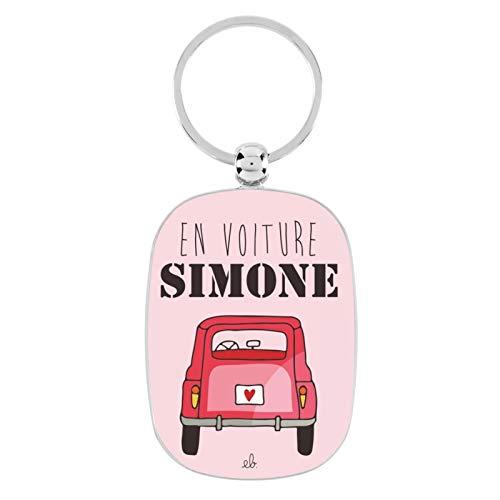Porte-clés OPAT Simone - Derrière la porte