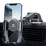 【令和進化版】DesertWest 車載ホルダー 粘着ゲル吸盤 スマホホルダー 車 携帯ホルダー 車 カーホルダー 伸縮アーム ケース対応/斬新なギア連動技術/片手操作可能/ワンタッチ/360度回転可能/4.5-6.7インチ多機種対応 iphone 12 pro max/ 11/ SE/OPPO/SHARP/ Xiaomi umidigi a9 pro/Samsung など対応 日本語取り扱い説明書付き