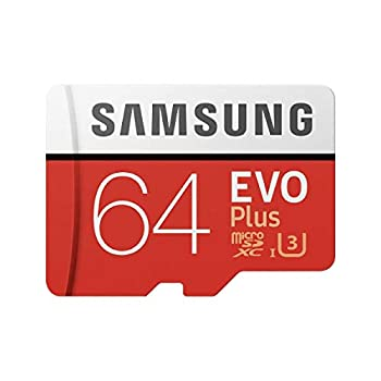 Samsung MicroSD EVO Plus Series 100MB/s  U3  Micro SDXC Memory Card with Adapter MB-MC64GA  64GB