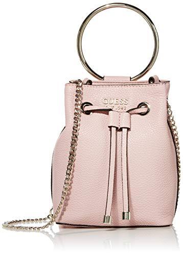 Guess Damen Mini Me Bucket-Tasche, Rose, Einheitsgröße