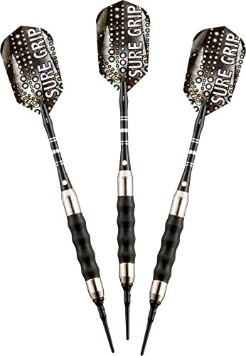 Lowest Prices! Viper Sure Grip Soft Tip Darts, Black, 18 Grams