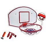 XHCP Hanging Basketball Board Redes de aro de Baloncesto Set Soporte de Baloncesto montado en la Pared Adulto Joven Movimiento al Aire Libre 70x47cm Sistema de Baloncesto