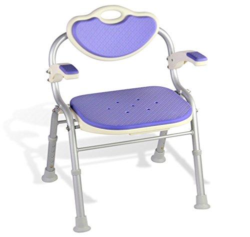 JXXDDQ taburete de baño Asiento de Ducha de aleación de Aluminio Silla...