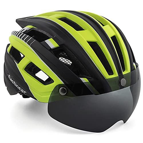 EASTINEAR Casco MTB Hombre Casco Bicicleta Ligero para Adulto con Visera Magnética...