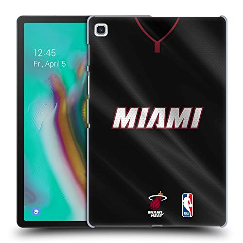Oficial NBA Jersey Road 2018/19 Miami Heat Carcasa rígida Compatible con Samsung Galaxy Tab S5e