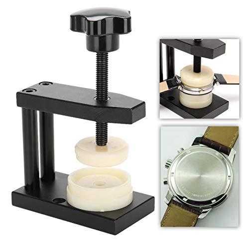 Avvitabile coperchio posteriore per orologio con 12 matrici che premono il kit di riparazione, strumento per la pressione degli orologi
