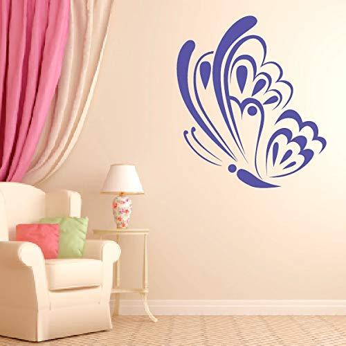 hetingyue muurstickers, vlinder, afneembaar, vinyl, woonkamer, kleur personaliseerbaar