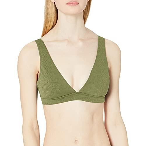 Seafolly V Neck Crop Top Bikini para Mujer