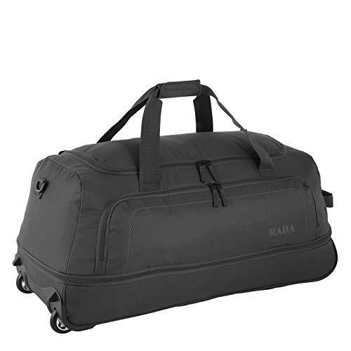 Rada Faltbare Reisetasche mit Rollen Cloud Rollenreisetasche sehr leicht für Damen und Herren