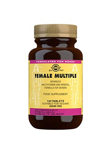 Solgar Female Multiple Tablets, Pack of 120
