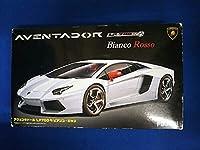 プラモデル フジミ模型 1/24 ランボルギーニ アヴェンタドール ビアンコロッソ リアルスポーツカー RS-06