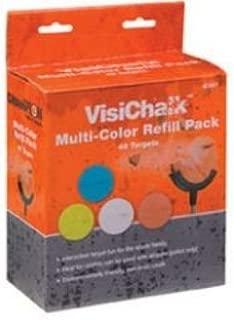 VisiChalk 3 Multi-Color Targets, 48ct