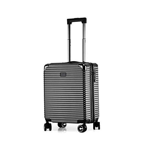 Aluminium launcher voor het testen van bagage, koffer, trolley, bevestigingscode mannelijk en vrouwelijk (kleur: zwart, maat: 45 cm)