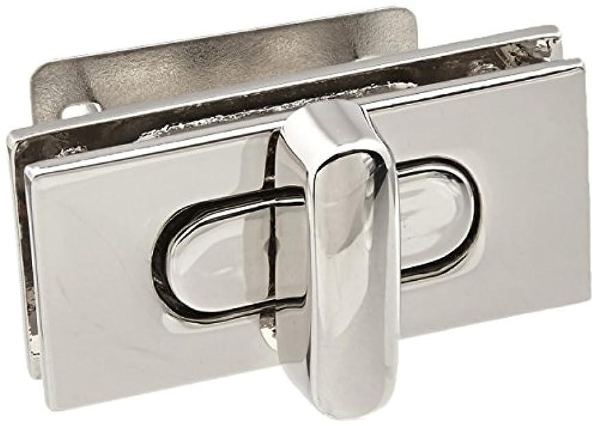 Dritz 717-65 Turn Lock with Rectangle Closure, Nickel