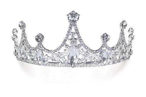 5' Princess Tiara, Birthday Girl Tiara, Child Tiara, Crystal Flower Girl Headpiece, Pinkalicious, Cinderella Tiara, Costume Party Accessories