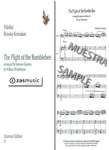 The Flight of the Bumblebee: for bassoon and piano