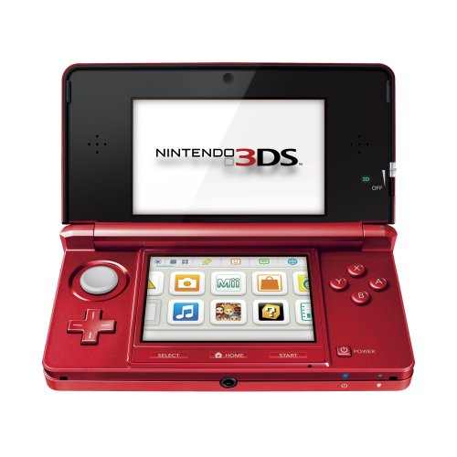 Nintendo 3DS - Color Rojo Metálico