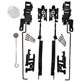 Sunroof Repair Kit Sunroof Track Assembly for Ford F150 F250 F350 F450 Expedition Lincoln Navigator Mark LT Replaces # 02ESR1201ABK