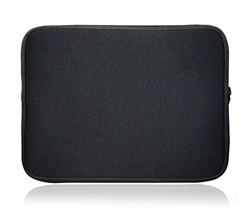 Sweet Tech Black Neoprene Case Cover Sleeve suitable for Dell Latitude 5480/7480 14 Inch Laptop (13-14 inch Laptop)