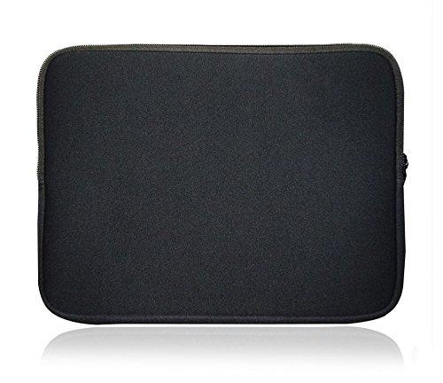 Sweet Tech Schwarz Neopren Hülle Tasche Sleeve Case Cover geeignet für Alcatel Plus 12 2 in 1 11.6 Inch ( 11.6 - 12.5 Zoll Laptop )