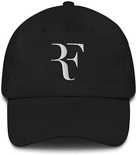 Tengyuntong Sombrero unisex Roger Federer Dad Blanco y Negro