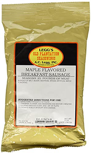 A.C. Legg Maple Flavored Breakfast Sausage - 10 PACK