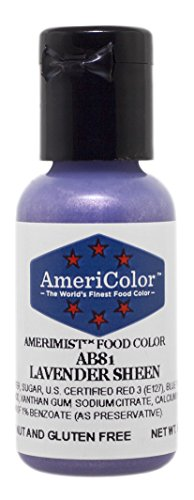 AmeriColor Amerimist Airbrush Color .65 Ounce, Lavender Pearl Sheen