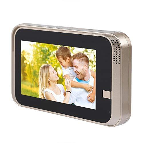 Doorphone elegante de WiFi, timbre elegante de la mirilla de la cámara de seguridad, ampliamente utilizado para el área pública