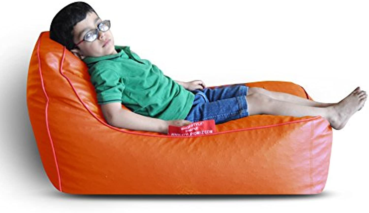 Style Homez Video Rocker for Kids orange   Red Piping Cover Only