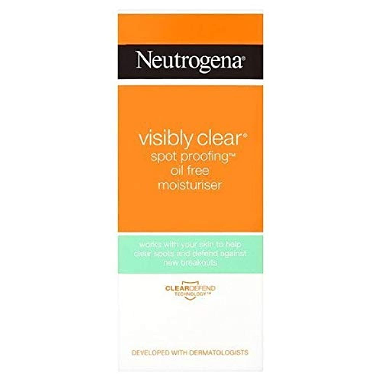 嫌悪陸軍口頭[Neutrogena ] ニュートロジーナ目に見えて明らかスポットプルーフ保湿50ミリリットル - Neutrogena Visibly Clear Spot Proofing Moisturiser 50ml [並行輸入品]