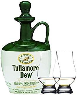 Tullamore Dew im Tonkrug 0,7 Liter  2 Glencairn Gläser