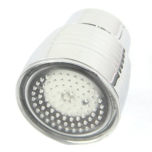 Sensor de temperatura 3 Color HeroNeo agua cocina grifo ducha luz LED RGB resplandor