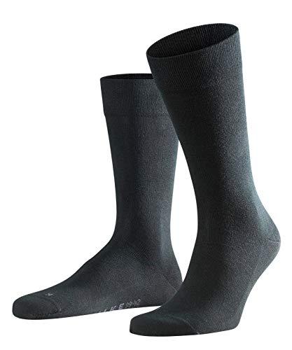FALKE Herren Socken Sensitive London - 94{f57ff08872674640634a7c76309519a1bb1c8ac3d6a73afbbbf88e618cbeac11} Baumwolle, 1 Paar, Schwarz (Black 3000), Größe: 39-42