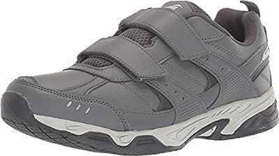 Avia Avi-Union II Strap Velcro Non Slip Shoes for Men – Comfort Men's Restaurant, Work & Safety Footwear