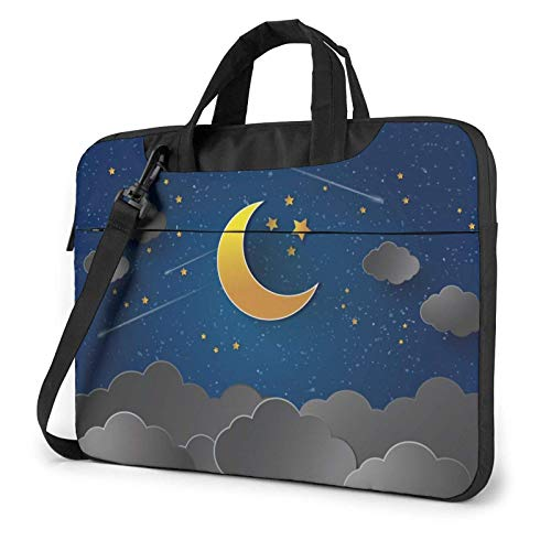 XCNGG Laptop Bag, Love Message Business Briefcase Protective Bag Cover for Ultrabook, MacBook, Asus, Samsung, Sony, Notebook 15.6 inch