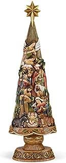 Avalon Gallery Christmas Tree Nativity 20 Inch Figurine