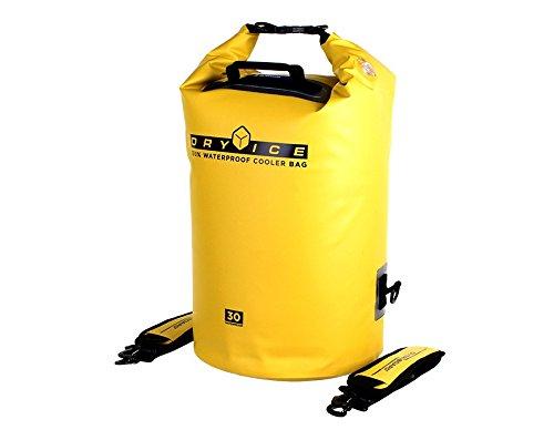 Overboard OB1161Y waterdichte 30 liter koeltas, geel, 29 x 3,6 x 42 cm