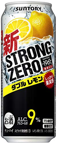サントリー-196℃ ストロングゼロ ダブルレモン [ チューハイ 500ml×24缶 ]