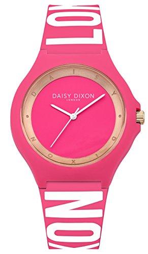 DAISY DIXON Damen Analog Quarz Uhr mit Silikon Armband DD040P
